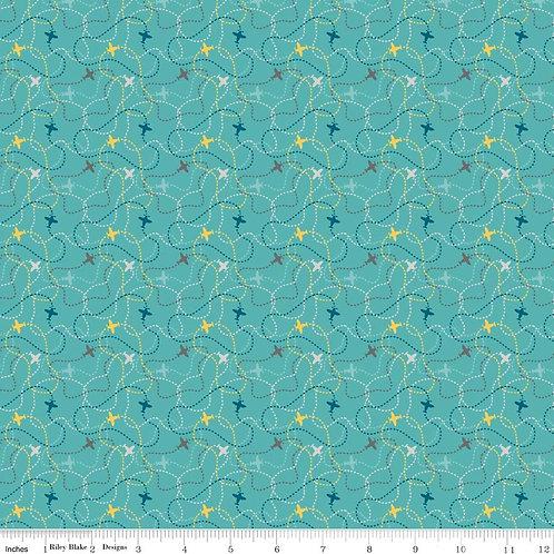Little Flyers - Flight in Blue