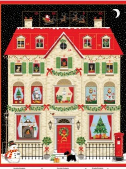 House Advent Calendar Panel