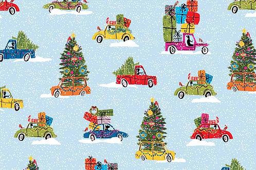 Christmas 2015 Wonderland - Cars in Blue