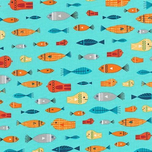 Message in a Bottle - Fish in Ocean
