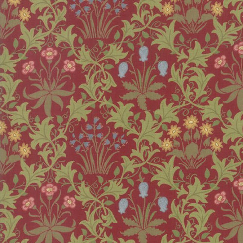 May Morris Studio by V&A Archives- Celadine 1896 Crimson