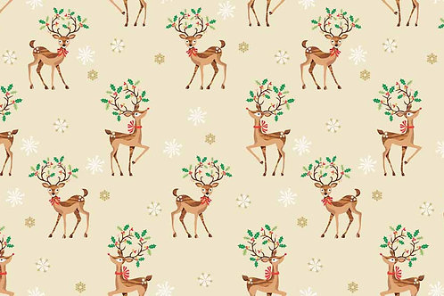 Traditional Christmas - Reindeer Scatter
