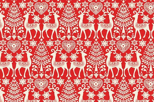 Christmas 2016 Scandi 3 - Reindeer in Red