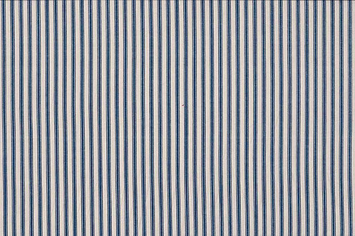 Basics Collection - Ticking Stripe in Navy