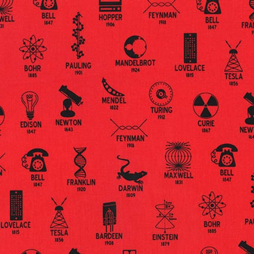Science Fair 2 - Inventors Red