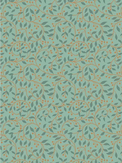 Chieveley - Garland Swirl on Sage