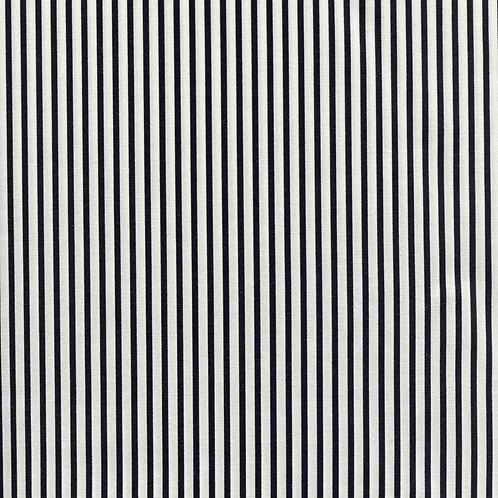 Sevenberry Basics - Medium Stripe in Black