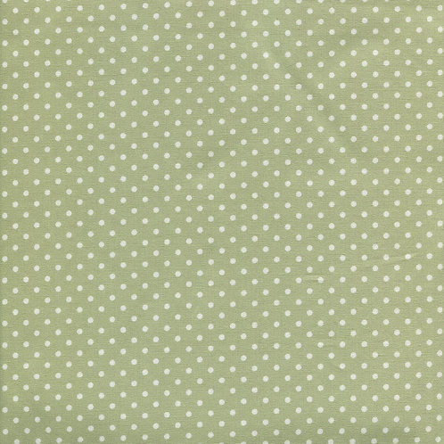 Sevenberry Basics - Small Spots in Green