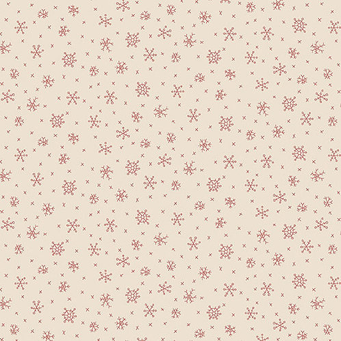 Winter Wonderland - Snowflakes in Cream