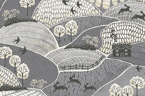 Into the Woods - Landscape in Grey
