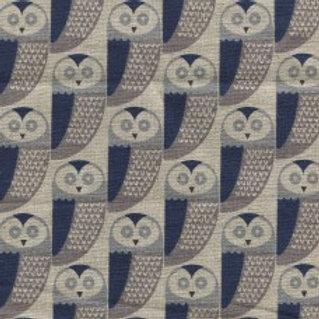 Dashwood Cotton/Linen Print - Chalk Hill Owl