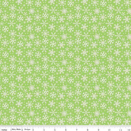 Santa Express - Snowflakes in Green