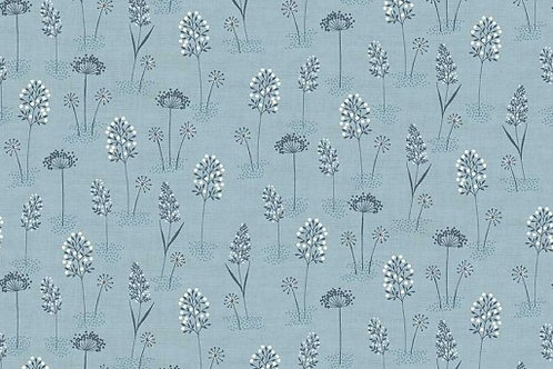 Woodland - Grasses in Blue