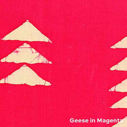 Alison Glass Handcrafted - Geese in Magenta