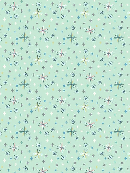 So Darling- Retro Stars on Mint