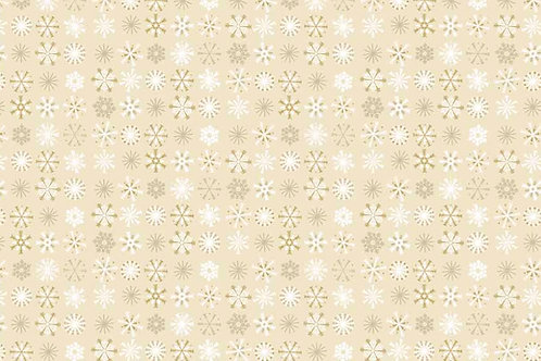 Traditional Christmas - Snowflakes in Cream