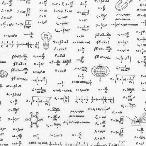 Science Fair 2 - Math Formulas White