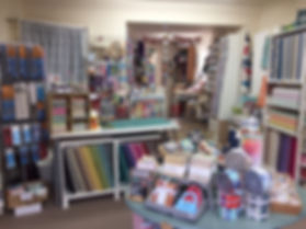 ZigZags shop interior fabric