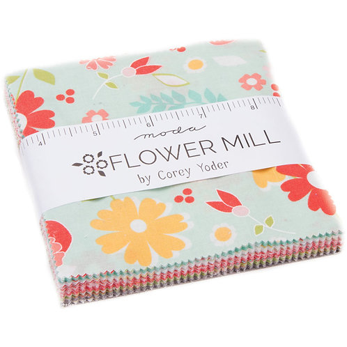Flower Mill - Charm Pack
