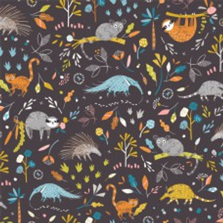 Hanging Around - Anteater and Friends on Aubergine