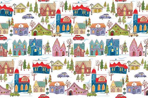 Christmas 2015 Wonderland - Houses in White