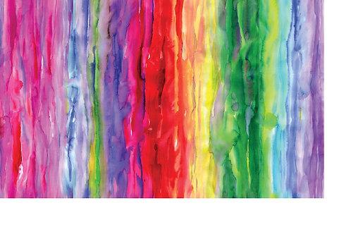 Gradients - Watercolour Bright Rainbow