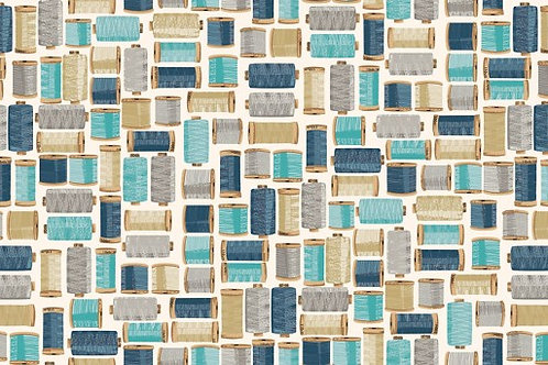 Stitch in Time - Cotton Reels in Blue