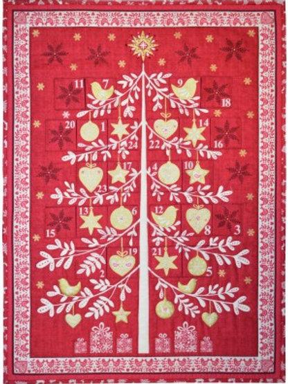 Scandi Advent Tree Calendar Panel