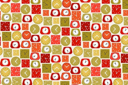 Lila's Kitchen Collection - Clocks in Red