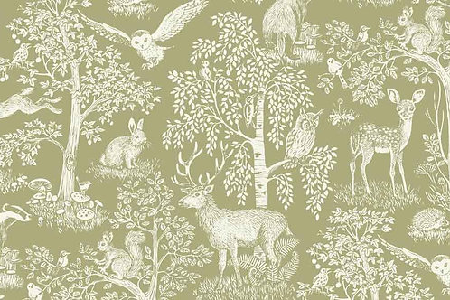 Sherwood Collection - Scenic in Green