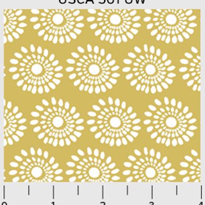 Urban Scandinavian - Sunflowers in Gold/White