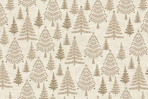 Christmas 2016 Scandi 3 - Trees in Hessian