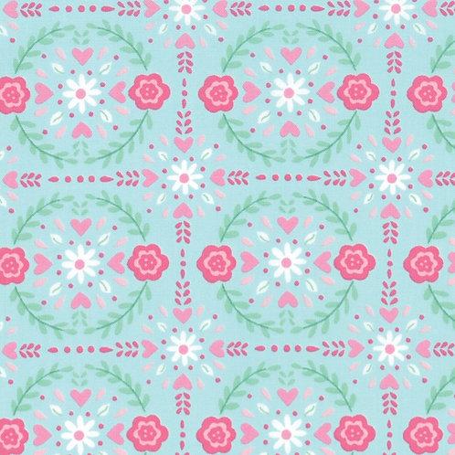 Llama Love - Aqua Mint