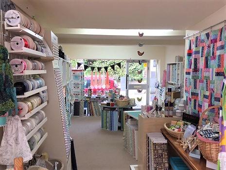 ZigZags shop interior fabric