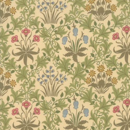 May Morris Studio by V&A Archives - Celadine 1896 Cream