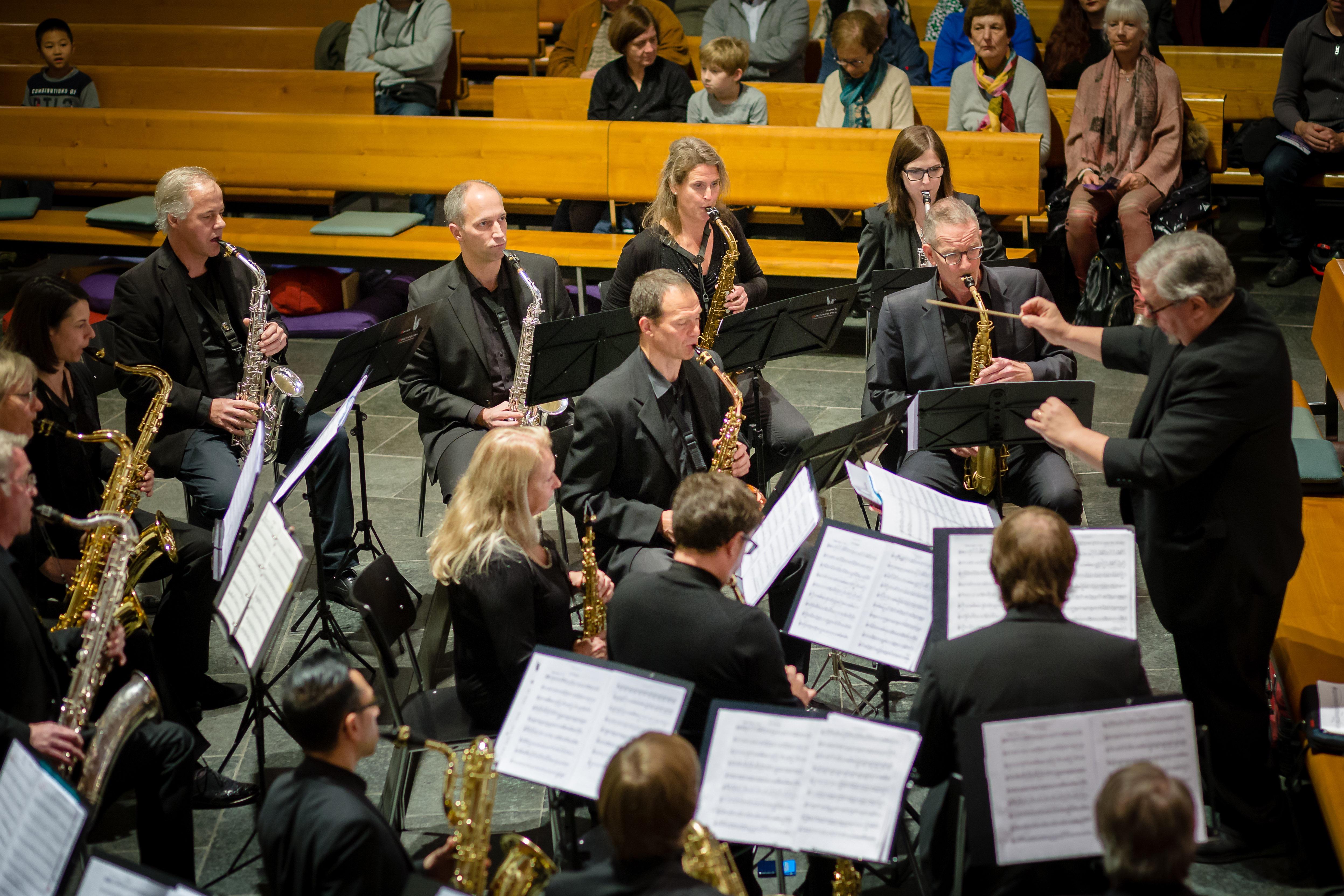 Swiss Saxophone Orchestra, 2018