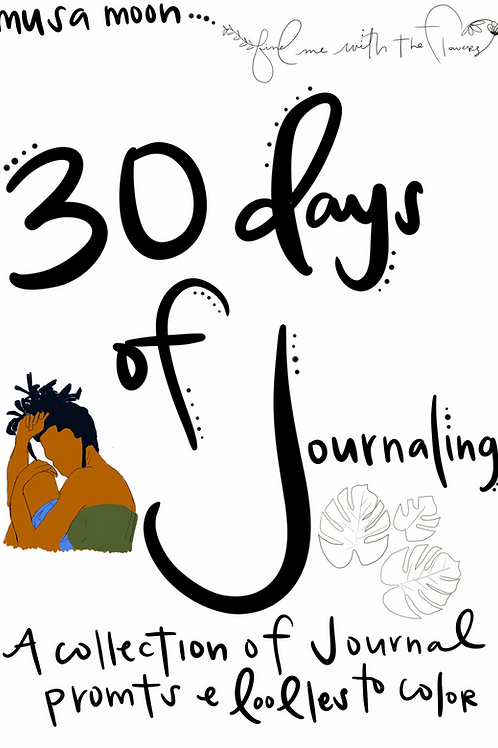 30 Days of Journaling - pdf download