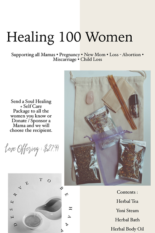 Healing 100 Women - Self Care Package
