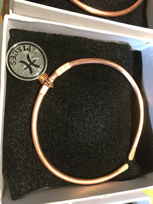 Handcrafted Copper Bracelet by LT