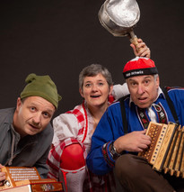 orchestre Jacky Thomet - Alpenweiss - show Suisse - comic -