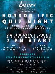 Horror-ific Quiz Night
