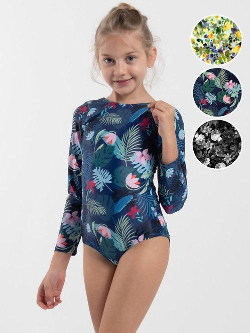 long sleeve swimware for girls