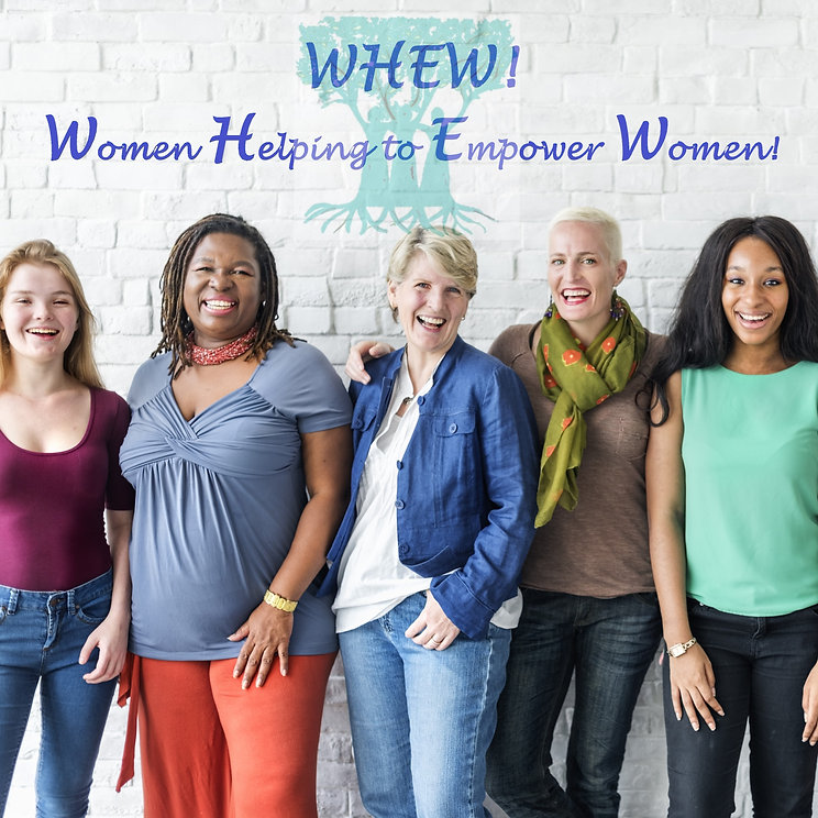 Women smiling, Women Empowering each other