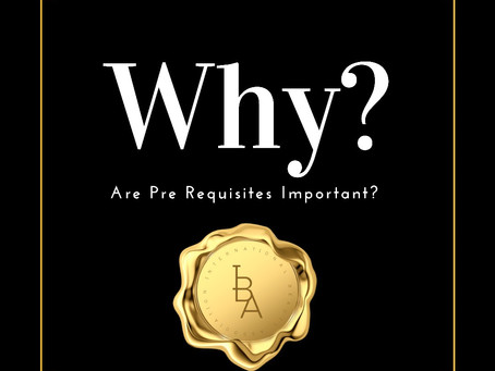 Why Are Pre Requisites Important?