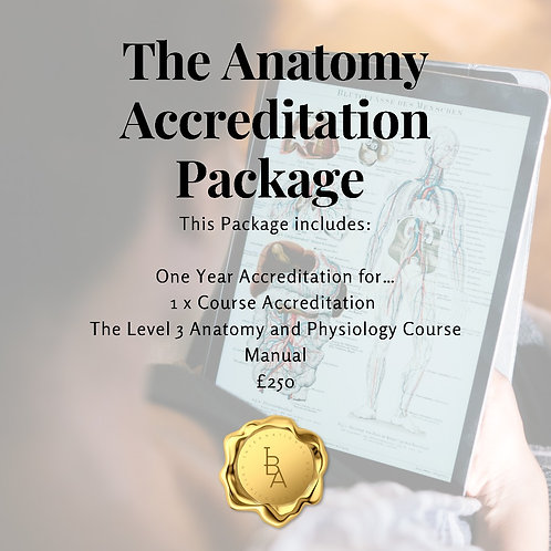 The Anatomy Accreditation Package