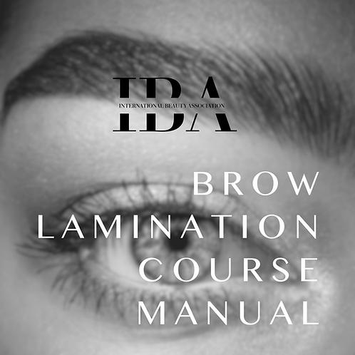 Brow Lamination Manual