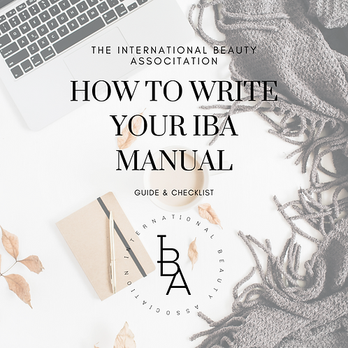 HOW TO WRITE YOUR IBA MANUALS