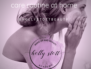 Why it's important to have a skin care routine at home