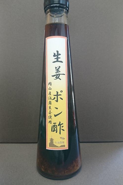 生姜ポン酢