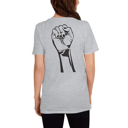 Camiseta unisex Puño solidario BLM